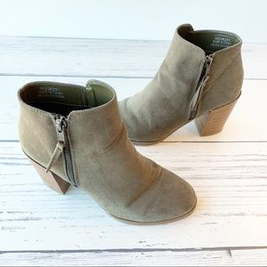 FOREVER 21 Zipper Ankle Boots